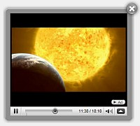 Video Overlay Ajax Embedding Video Vb6