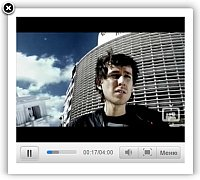 Lightbox Video Player Over Flash Add Video Website Software